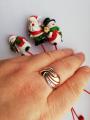 Кольцо с алмазной гранью.