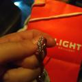 Золотое кольцо с фианитами ❤️