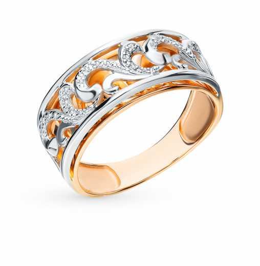 771d352fa7bf Кольца с бриллиантами — купить ювелирное бриллиантовое колечко недорого в  интернет-магазине SUNLIGHT в Москве, выбрать кольцо с бриллиантом классика  в ...