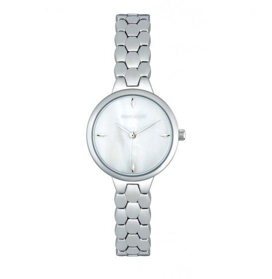 baacab0060ce Женские часы с перламутром на металлическом браслете