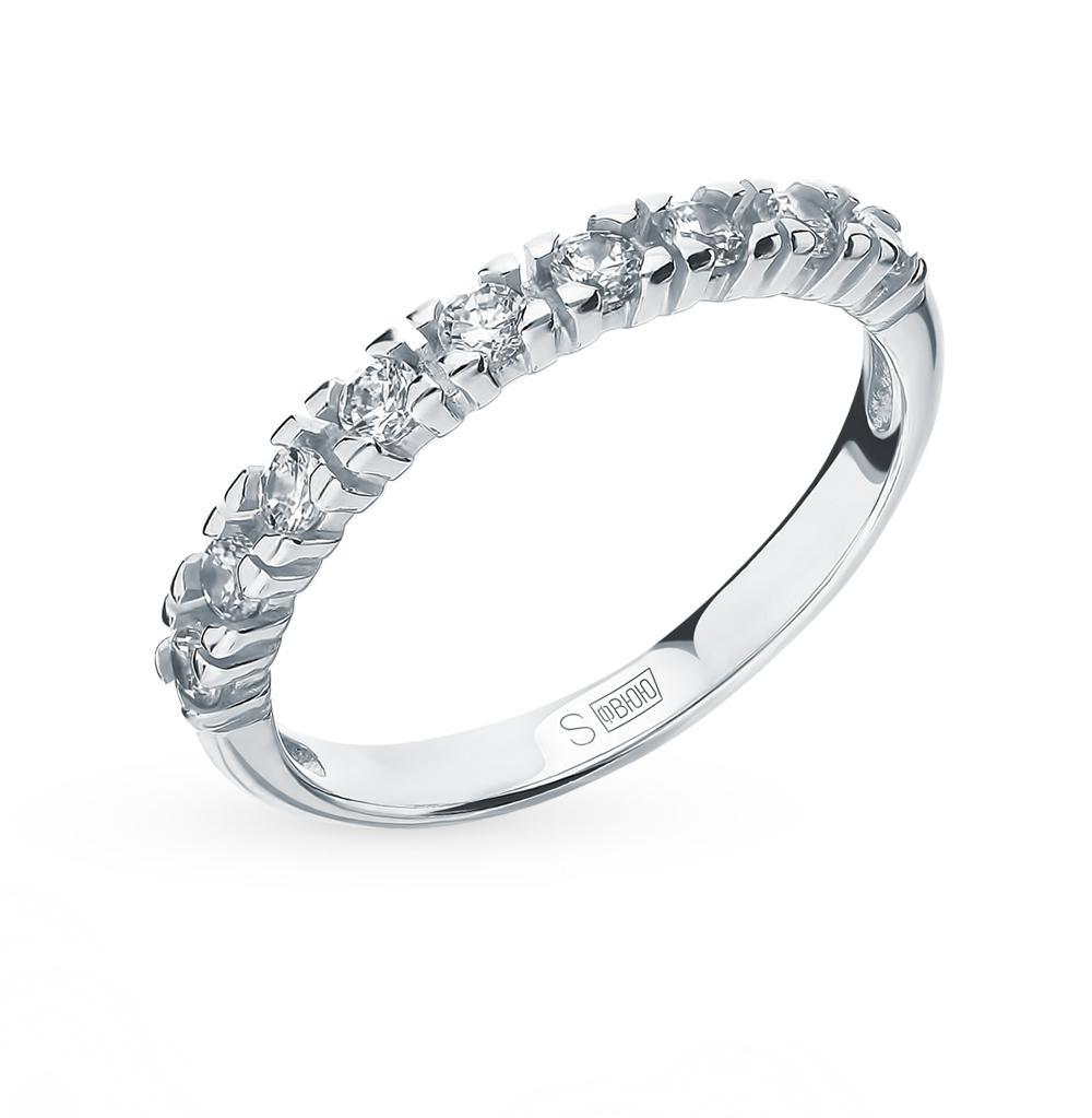 Серебряное кольцо с фианитами SOKOLOV 94012743 в Екатеринбурге