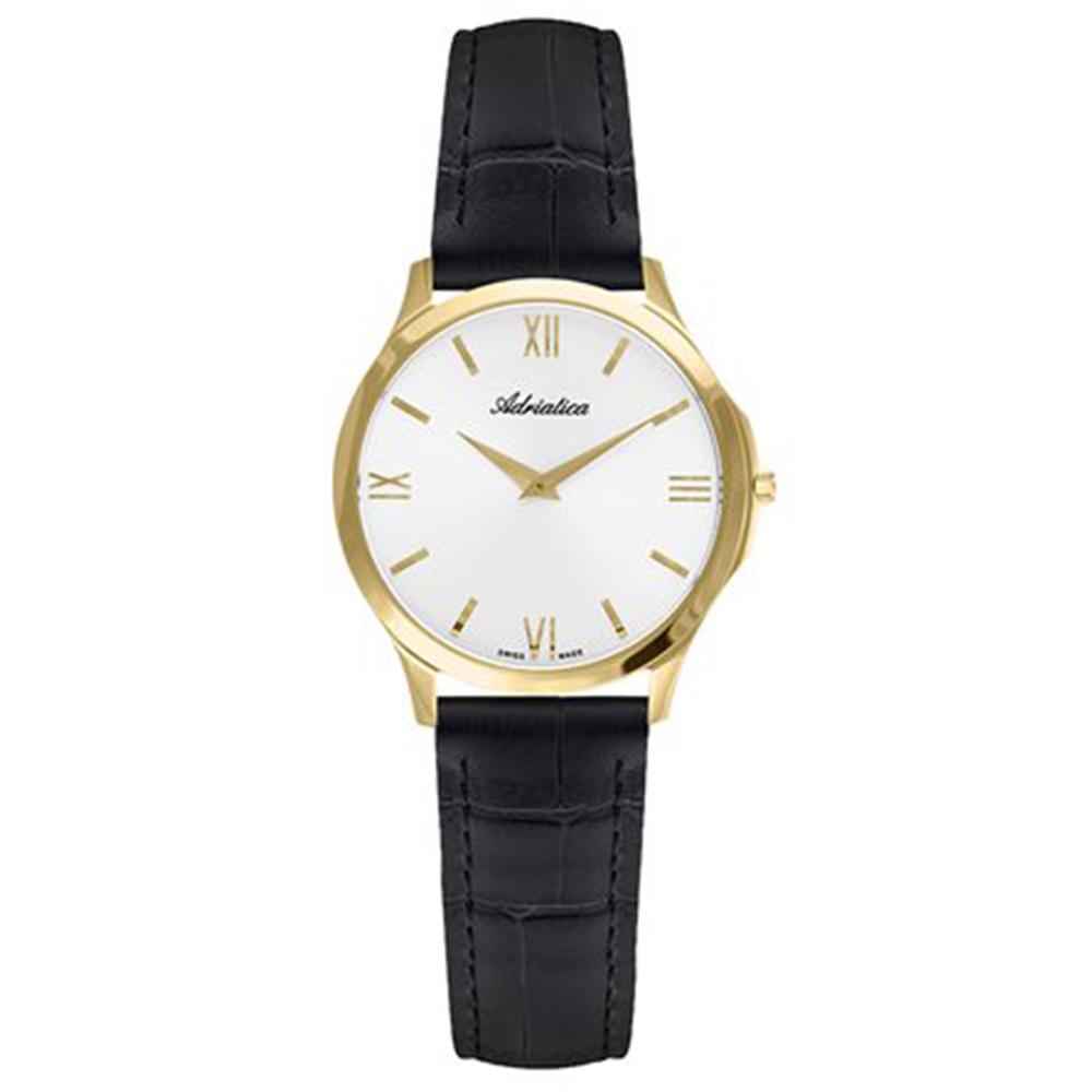 Фото «Женские часы A3141.1263Q на кожаном ремешке с сапфировым стеклом»