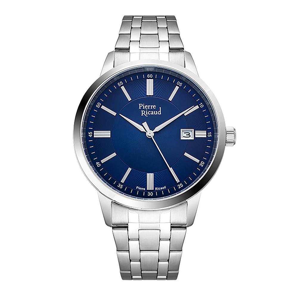 Фото «Мужские кварцевые часы P97238.5115Q на стальном браслете с минеральным стеклом»