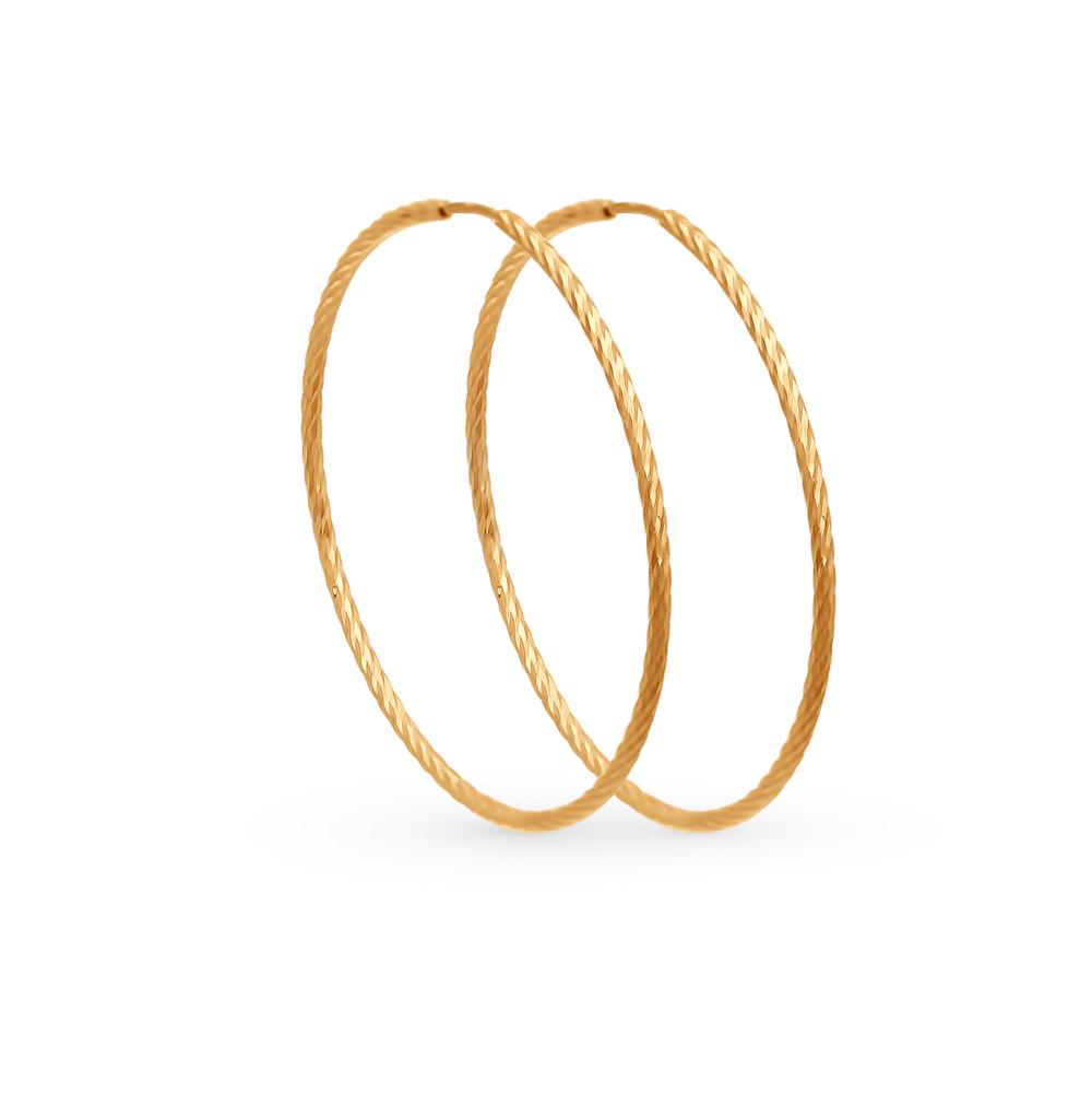 золотые серьги SOKOLOV 140145*