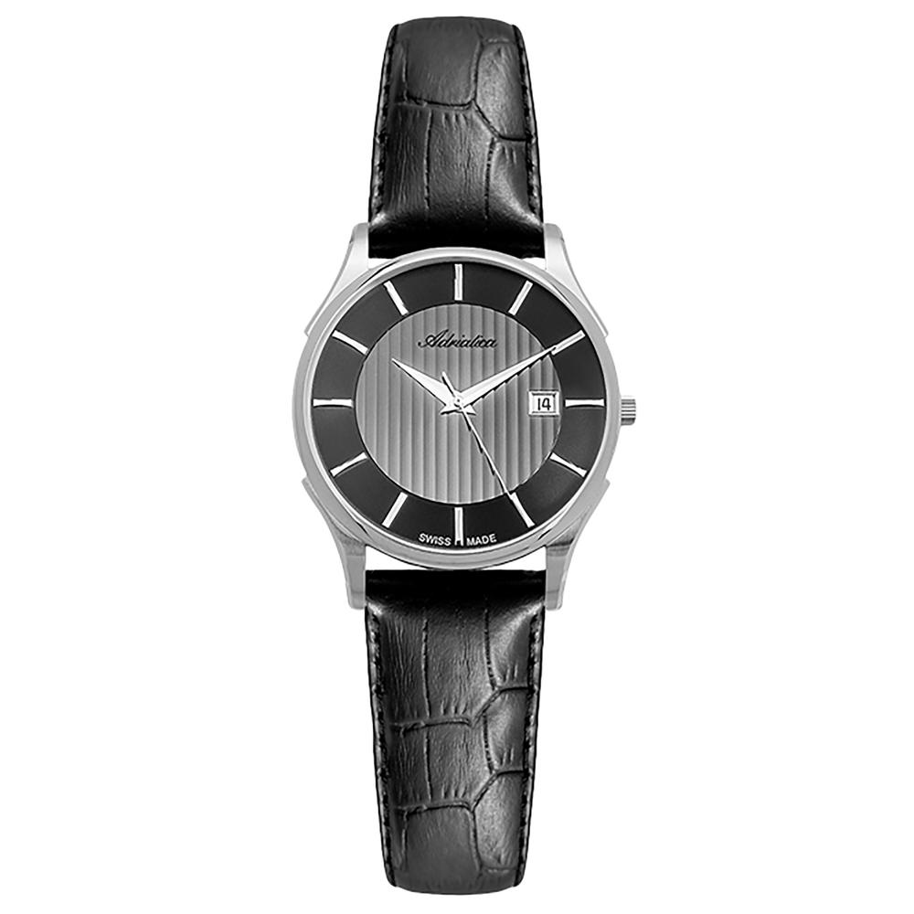 Женские часы A3146.5216Q2 на кожаном ремешке с минеральным стеклом