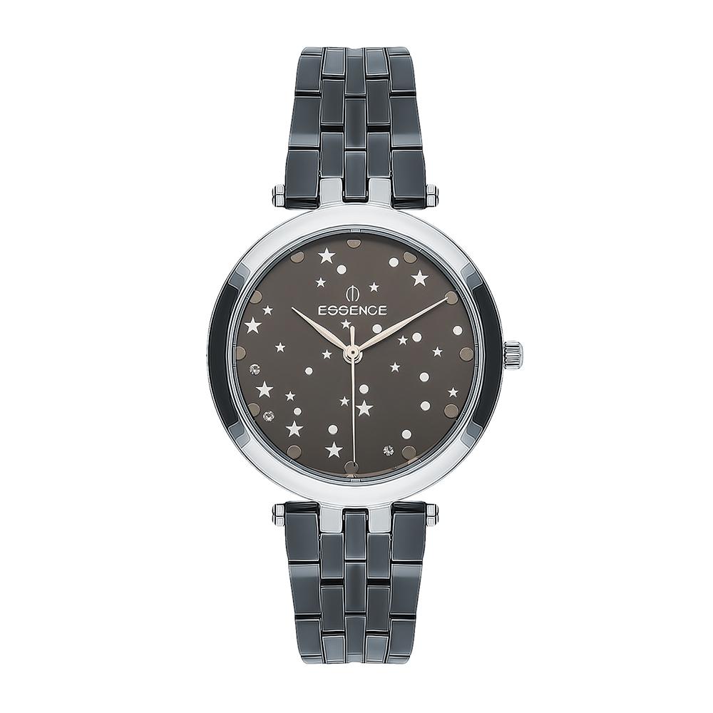 Женские  кварцевые часы ES6499FE.366 на стальном браслете с минеральным стеклом в Екатеринбурге
