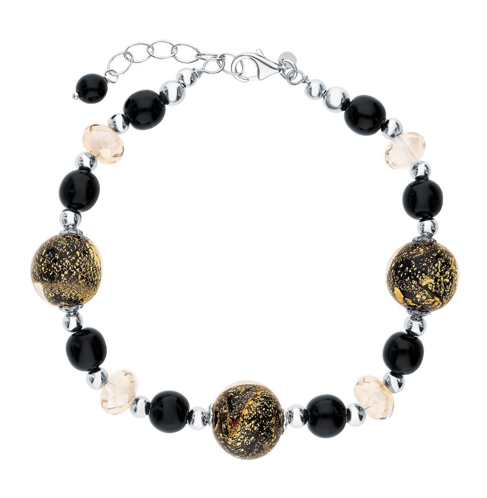 Фото «Серебряный браслет с муранским стеклом»