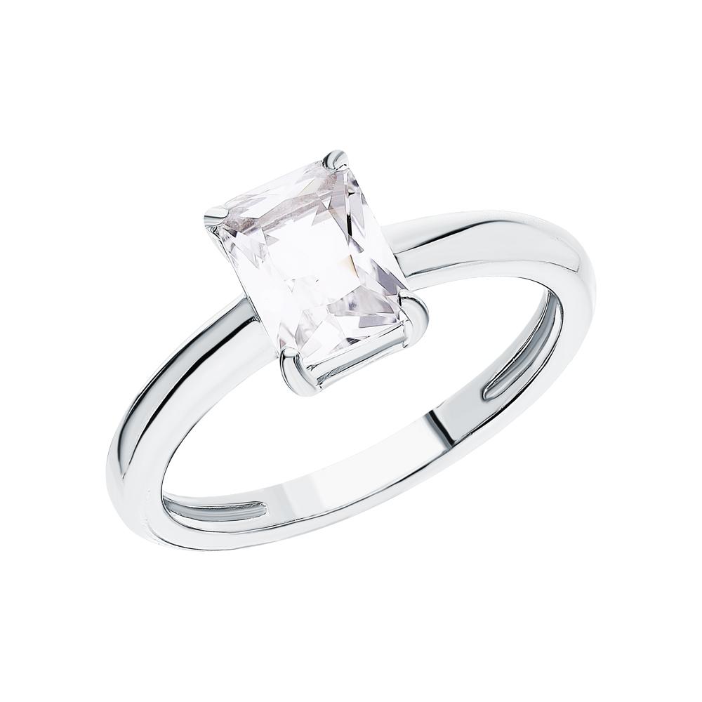 Фото «Серебряное кольцо с горным хрусталем»