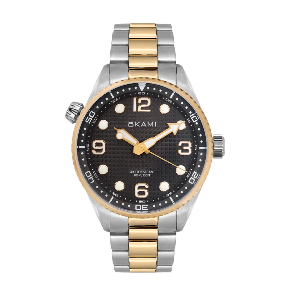 Мужские часы на стальном браслете