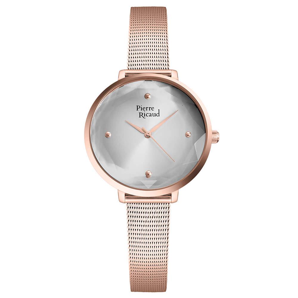 Фото «Женские кварцевые часы P22097.9147Q на стальном браслете с минеральным стеклом»