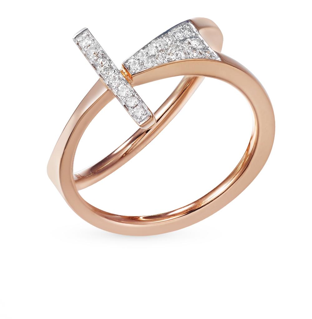 Золотое кольцо с бриллиантами в Санкт-Петербурге