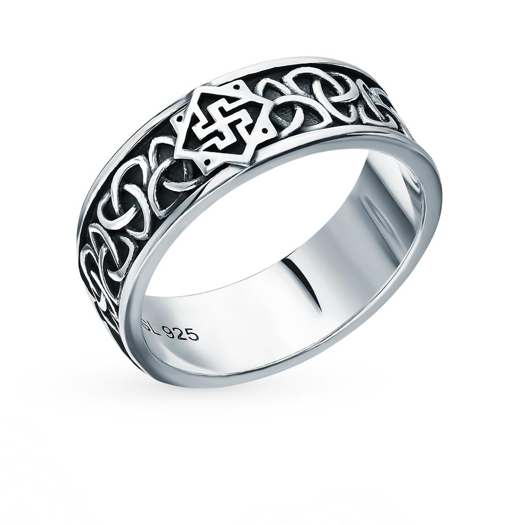 """Серебряное кольцо-оберег """"Валькирия"""""""