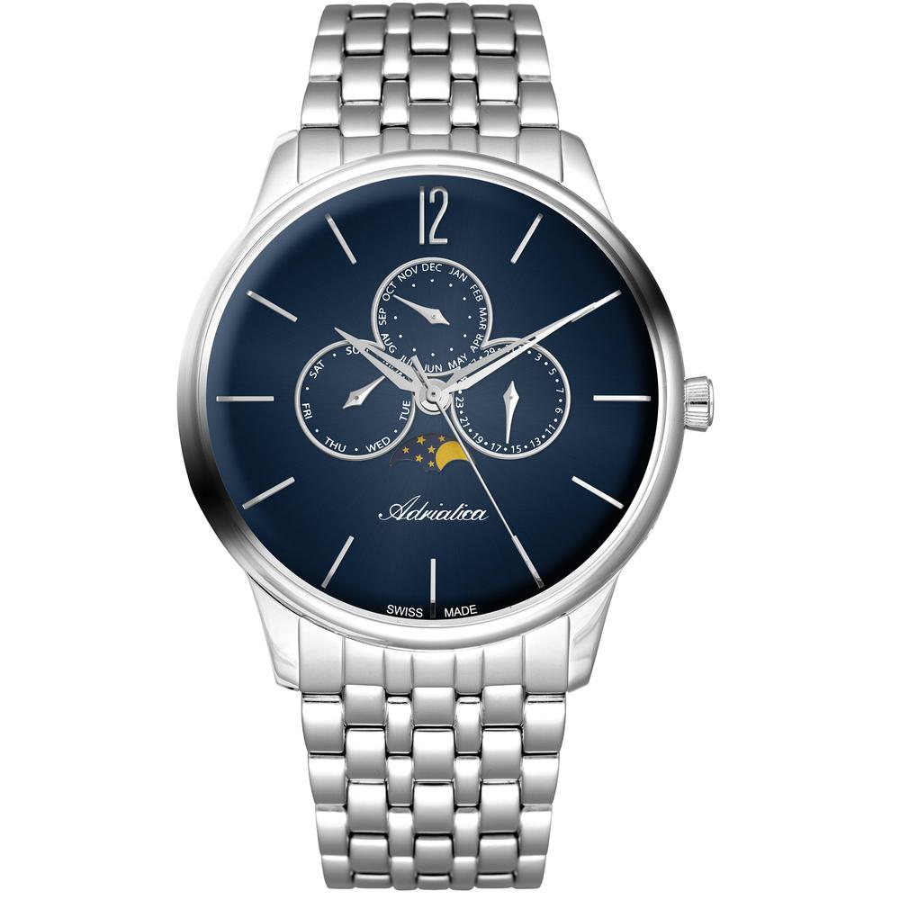 Фото «Мужские часы A8269.5155QF на стальном браслете с минеральным стеклом»