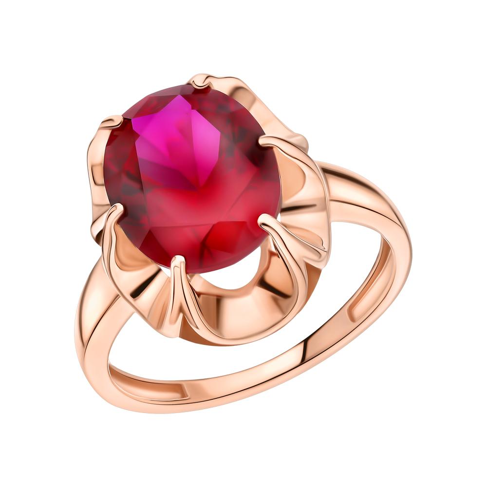 Фото «Золотое кольцо с рубином»