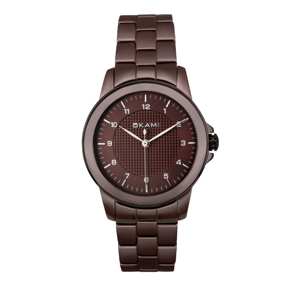 Женские керамические часы на браслете