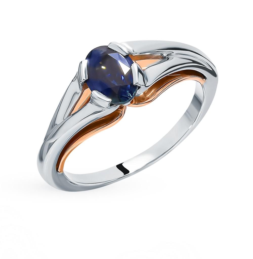 Золотое кольцо с сапфиром в Екатеринбурге