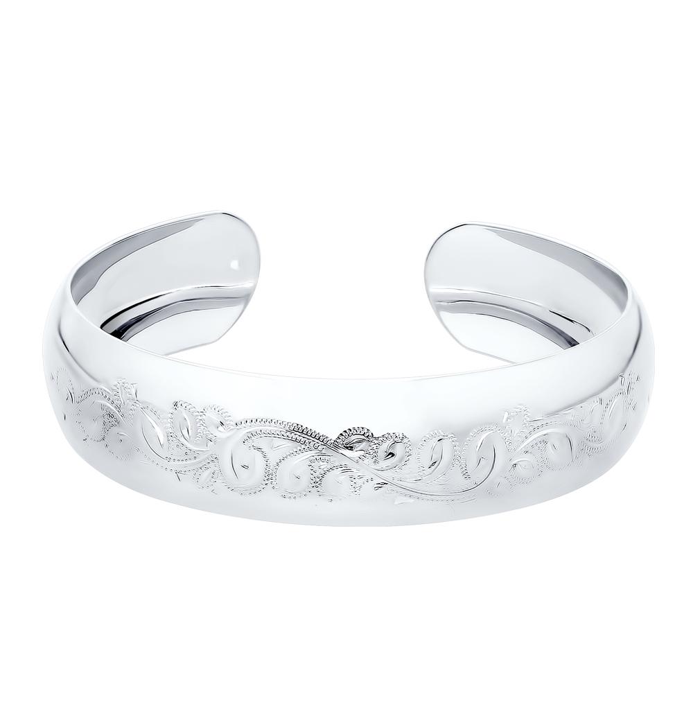 серебряный браслет SOKOLOV 94050008
