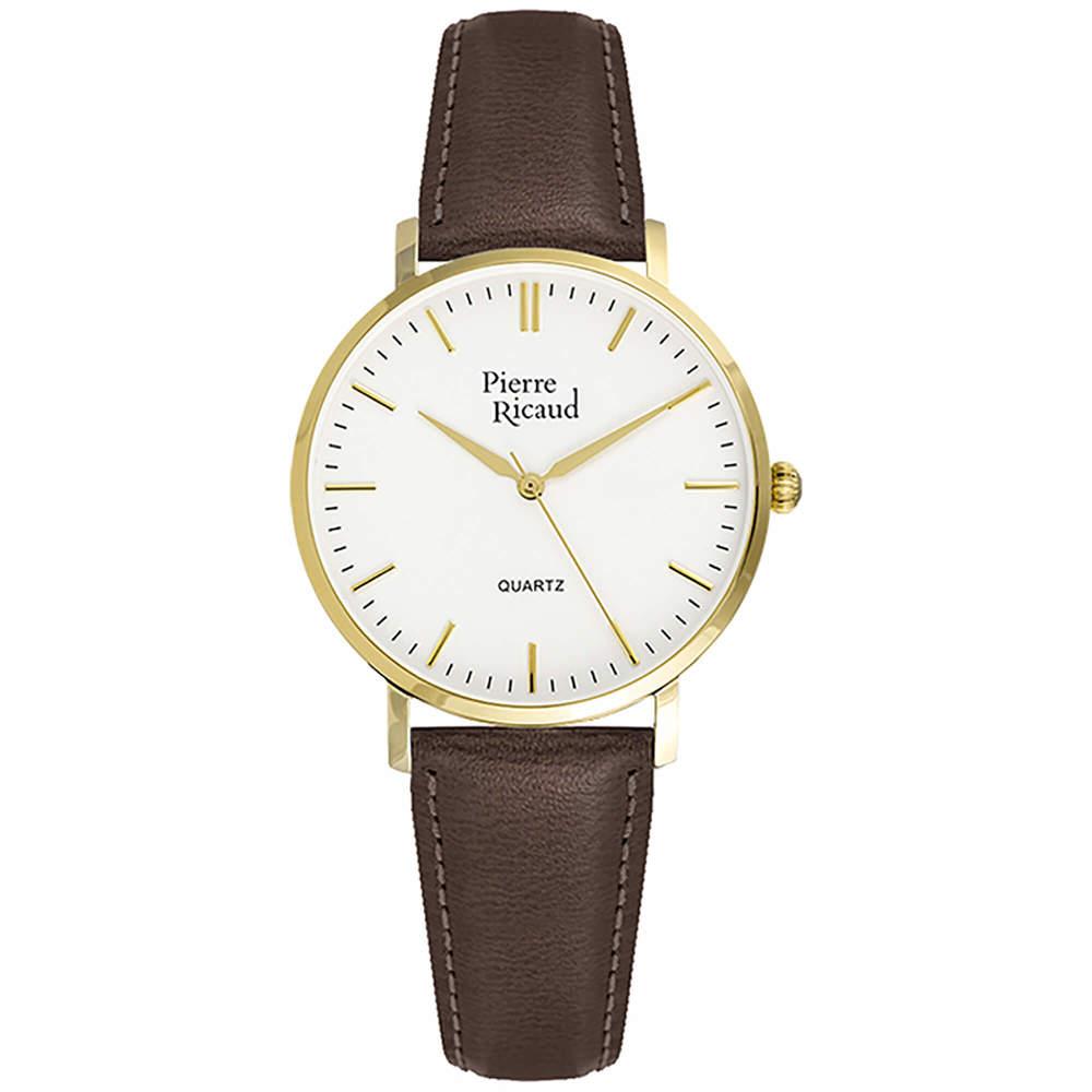 Фото «Женские кварцевые часы P51074.1B13Q на кожаном ремешке с минеральным стеклом»