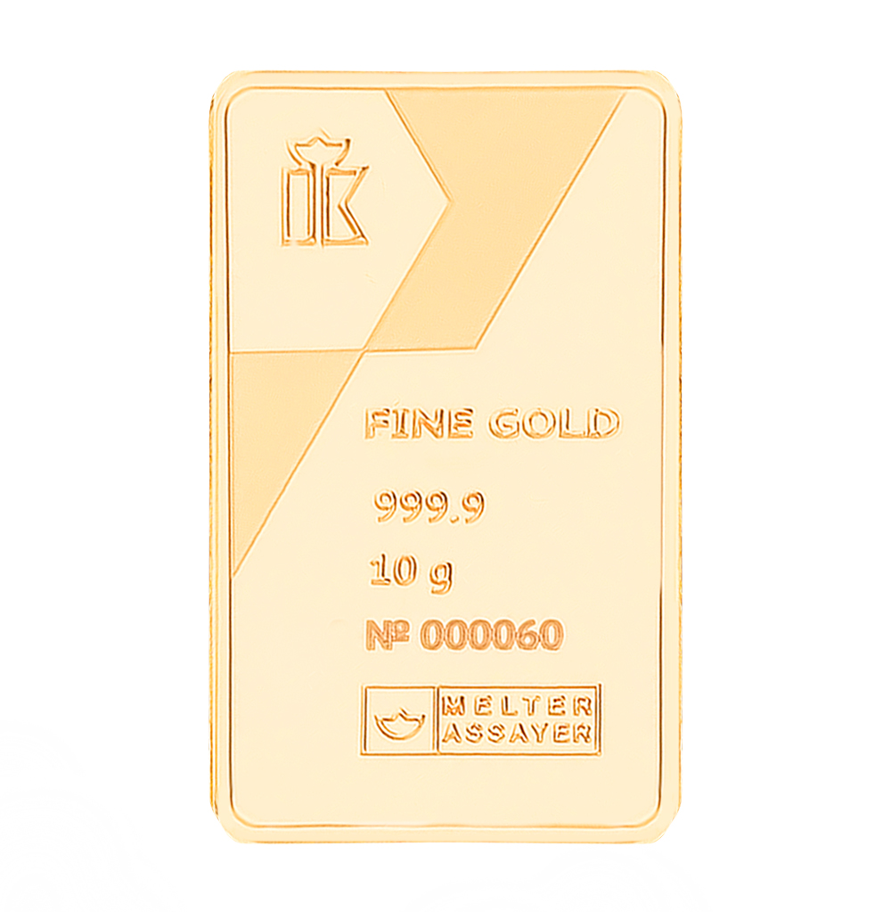 Фото «Золотой слиток 999 пробы, 10 грамм»