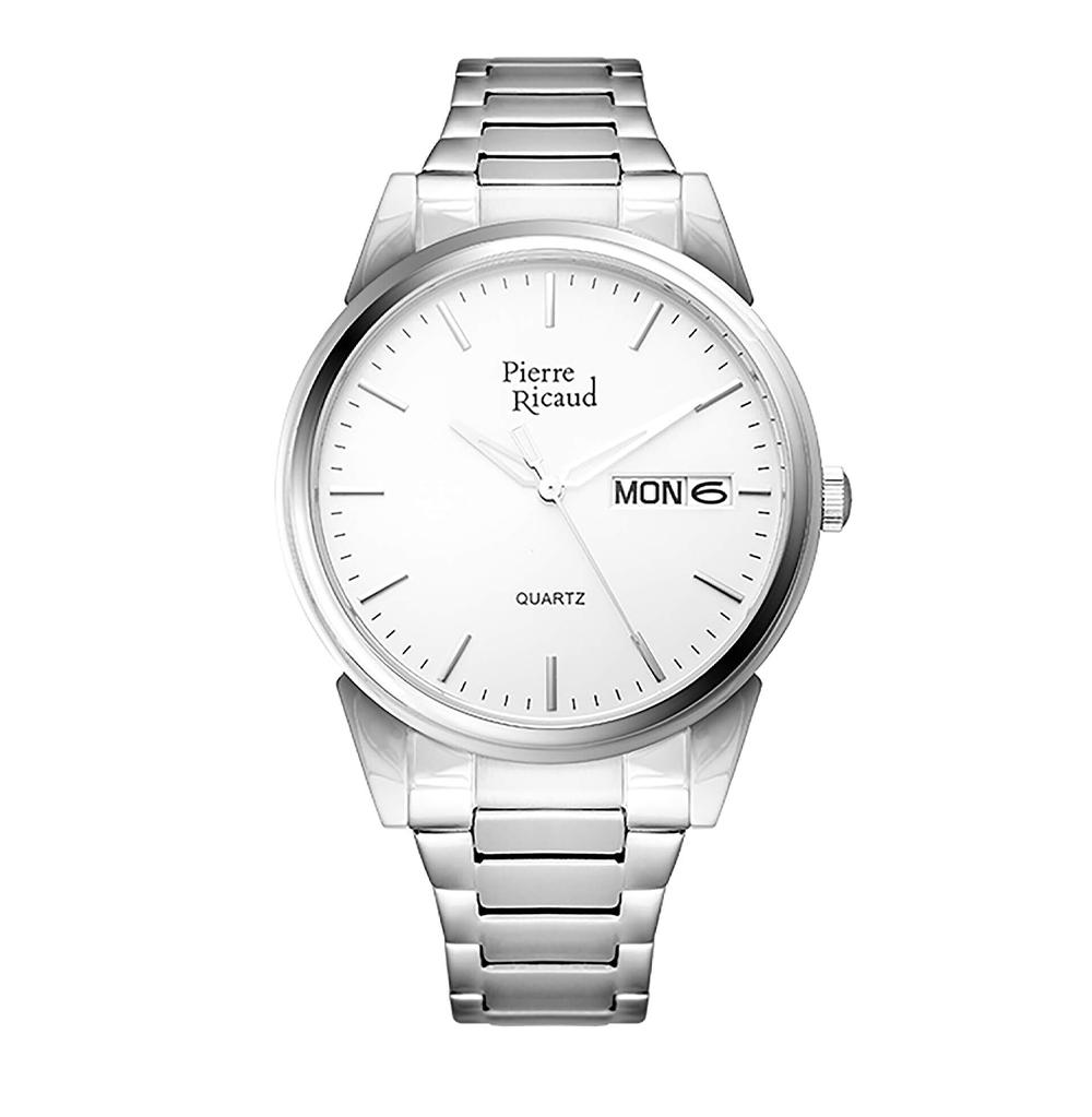 Мужские кварцевые часы P91067.5113Q на стальном браслете с сапфировым стеклом в Екатеринбурге