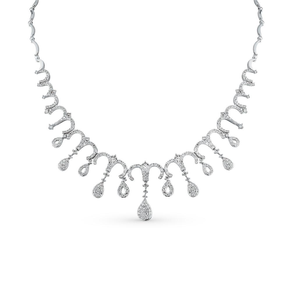 Фото «золотое шейное украшение с бриллиантами»