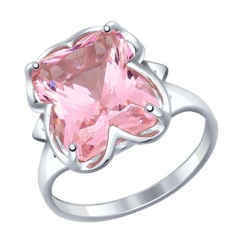 Серебряное кольцо с наноситаллами SOKOLOV 92011235 в Санкт-Петербурге