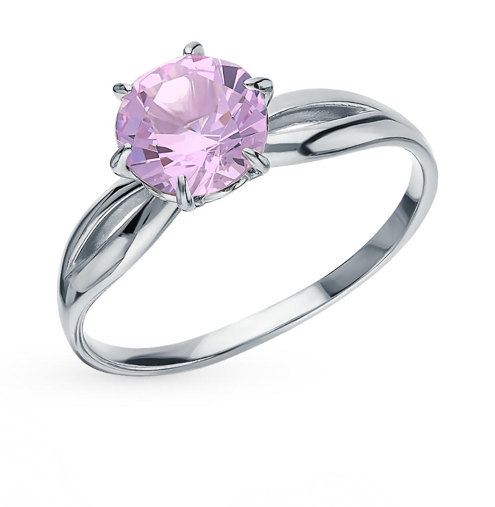 Серебряное кольцо с кунцитами в Екатеринбурге