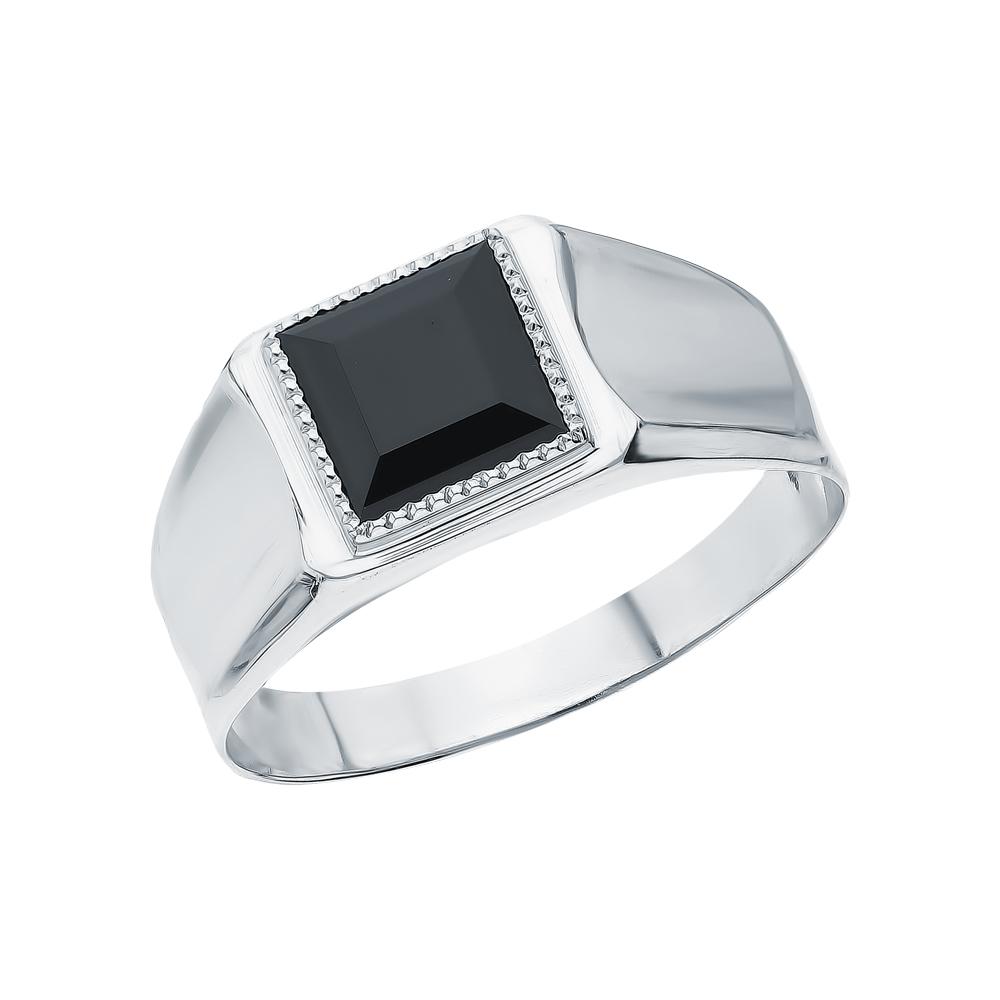 Фото «Серебряное кольцо с наношпинелями»