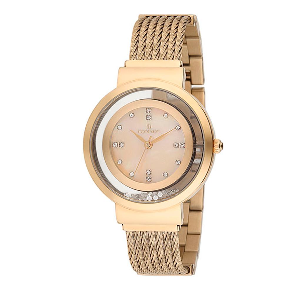 Фото «Женские часы ES6421FE.110 на стальном браслете с IP покрытием с минеральным стеклом»