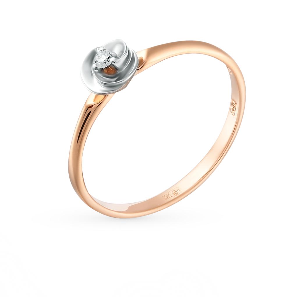 Золотое кольцо с бриллиантами SOKOLOV 1011387 в Санкт-Петербурге