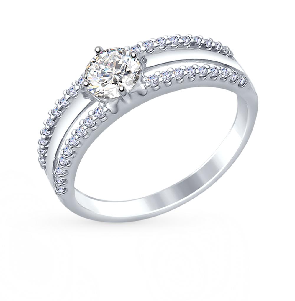 Фото «Серебряное кольцо с фианитами SOKOLOV 94012244»