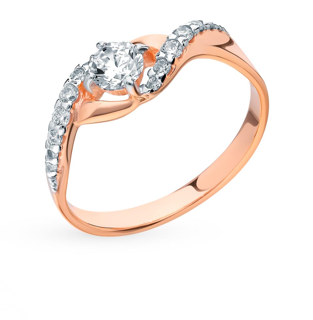 серебряное кольцо с фианитами SOKOLOV 93010617