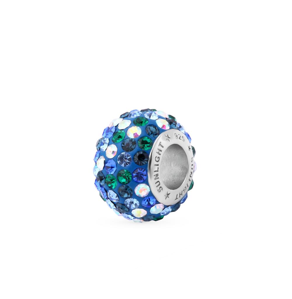 Фото «серебряная подвеска с кристаллами»