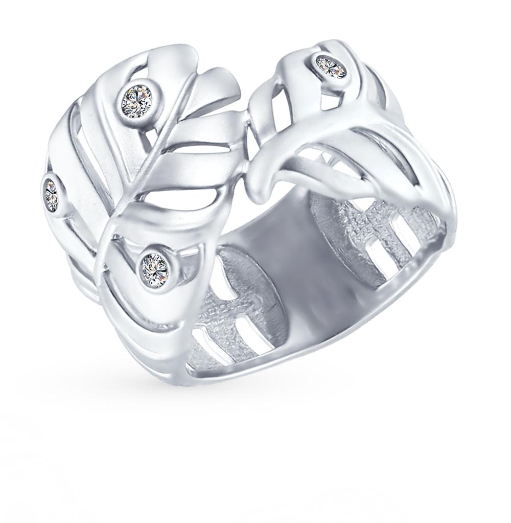 Фото «Серебряное кольцо с фианитами SOKOLOV 94012390»