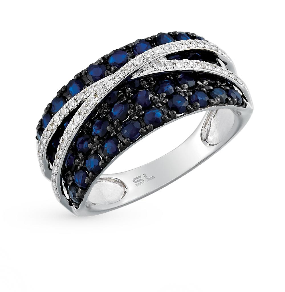 Фото «золото кольцо с сапфирами и бриллиантами»