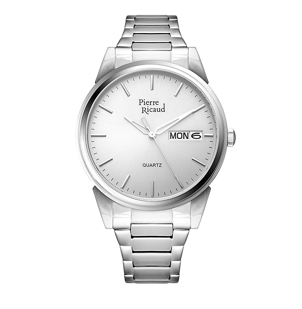 Фото «Мужские кварцевые часы P91067.5117Q на стальном браслете с сапфировым стеклом»