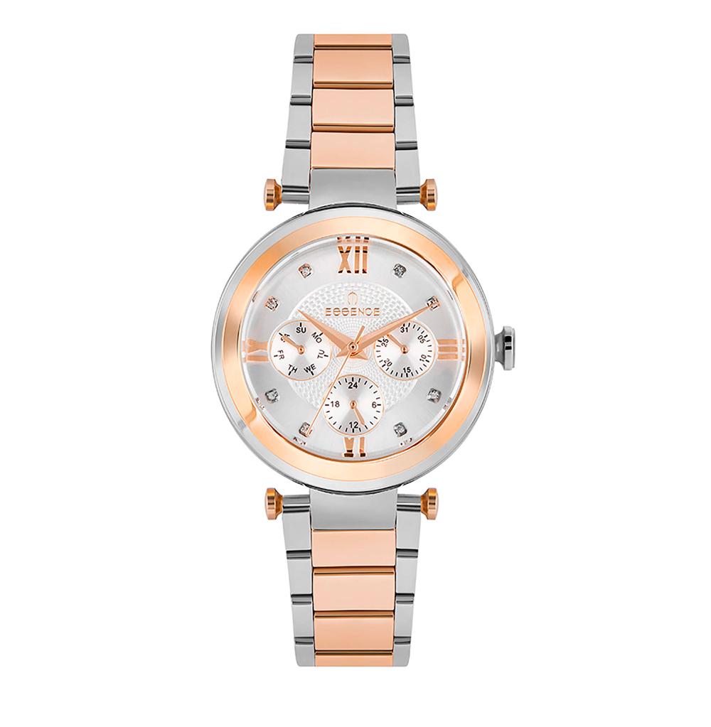 Фото «Женские  кварцевые часы ES6605FE.530 на стальном браслете с минеральным стеклом»