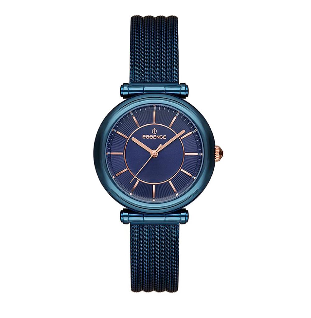 Фото «Женские  кварцевые часы ES6513FE.490 на стальном браслете с минеральным стеклом»