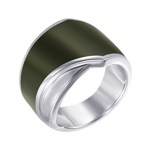 Серебряное кольцо с эмалью в Санкт-Петербурге