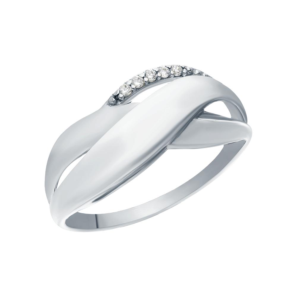 Серебряное кольцо с кубическим цирконием в Санкт-Петербурге