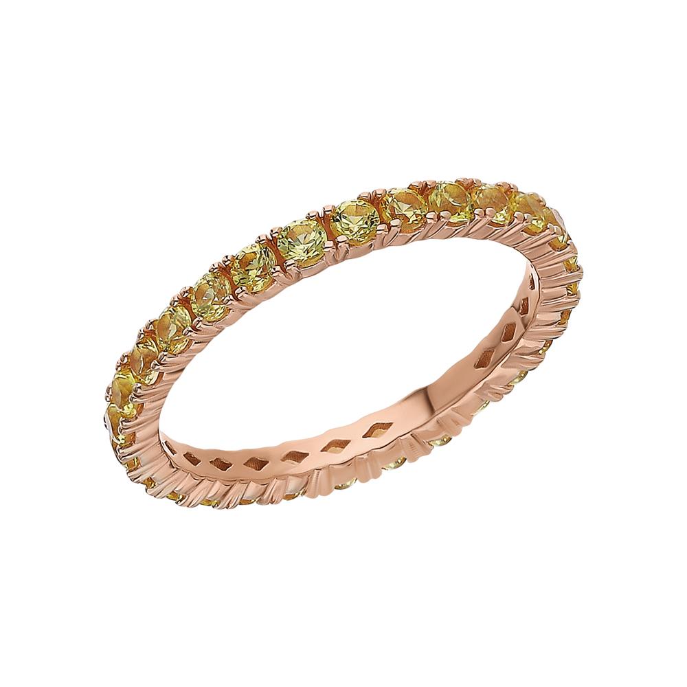 Золотое кольцо с сапфирами в Екатеринбурге