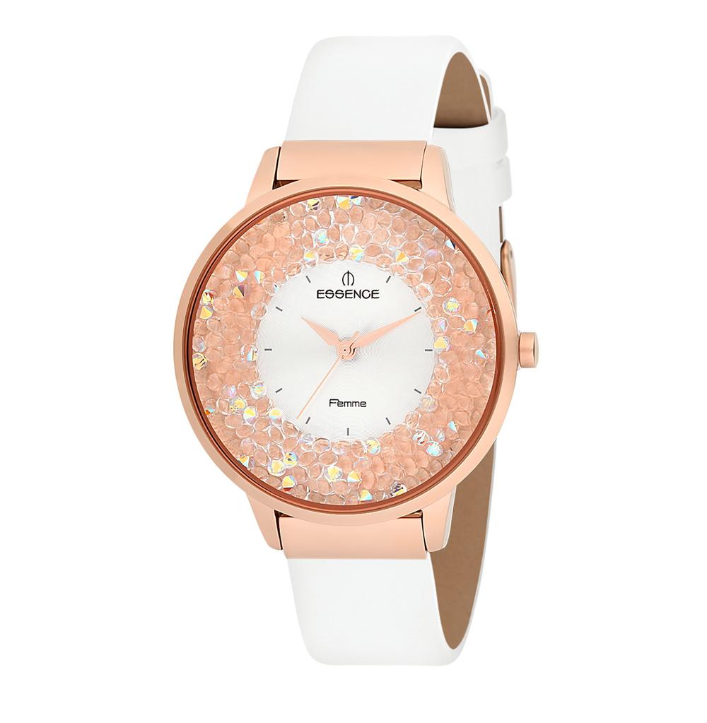Женские часы D908.433 на кожаном ремешке с минеральным стеклом в Санкт-Петербурге