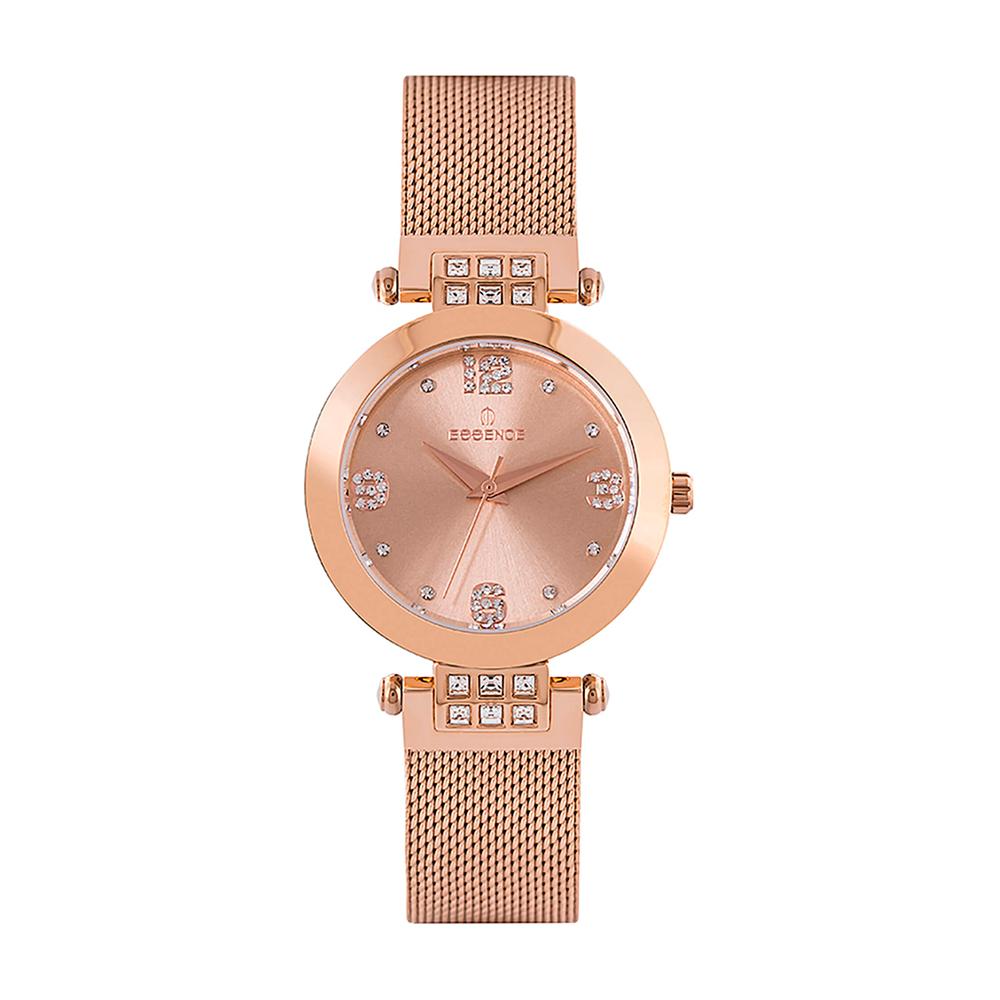 Фото «Женские  кварцевые часы ES6547FE.410 на стальном браслете с минеральным стеклом»