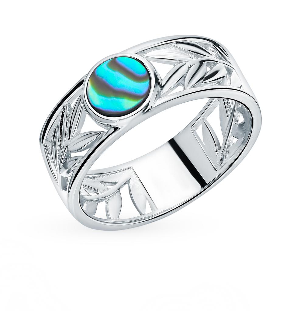 Серебряное кольцо с ракушками в Екатеринбурге