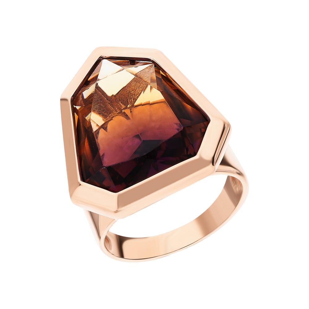 Фото «Золотое кольцо с аметрином»