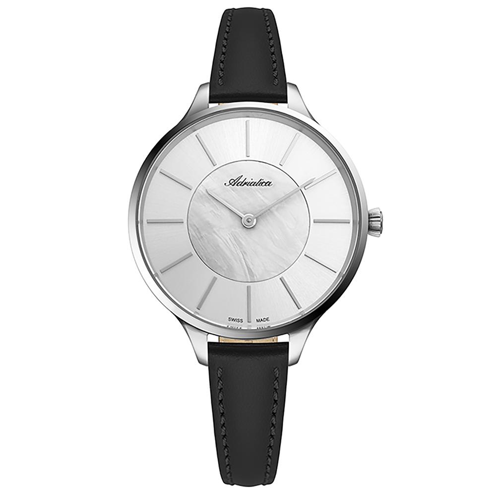 Фото «Женские часы A3633.521FQ на кожаном ремешке с минеральным стеклом»
