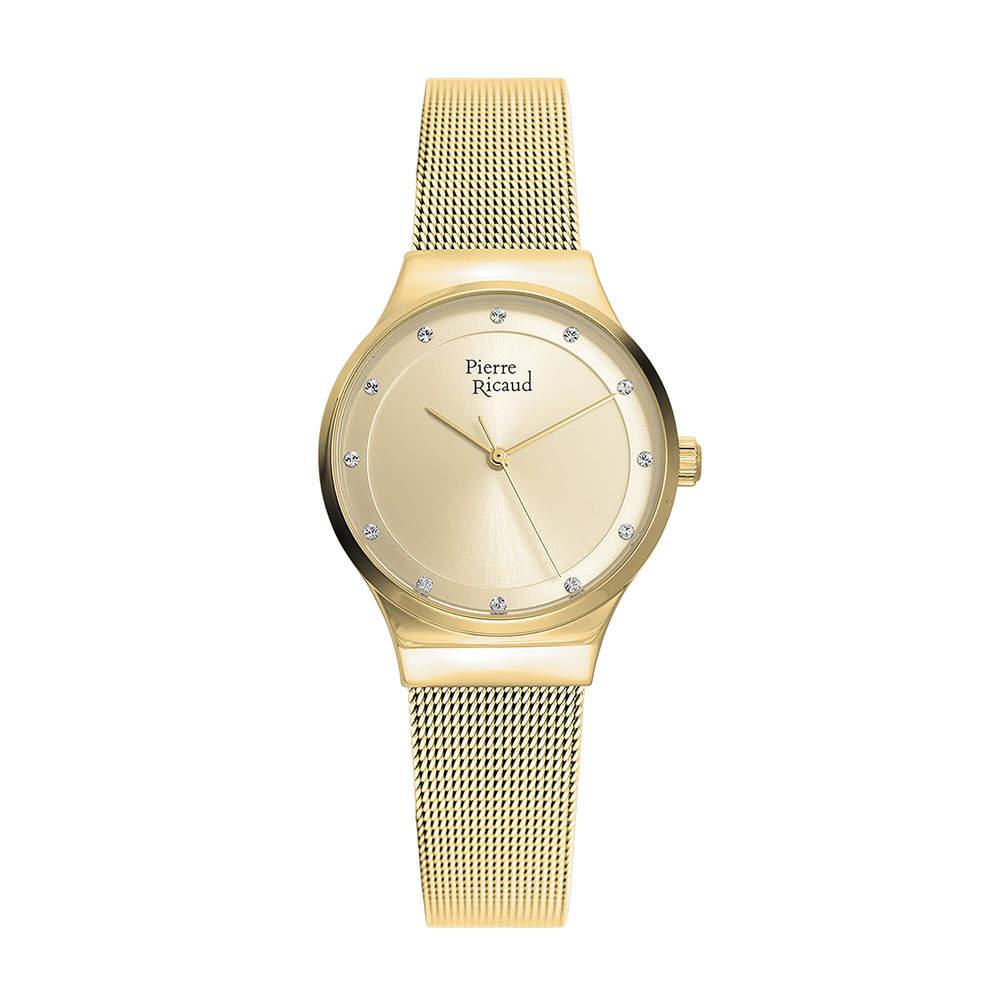 Фото «Женские кварцевые часы P22038.1141Q на стальном браслете с минеральным стеклом»