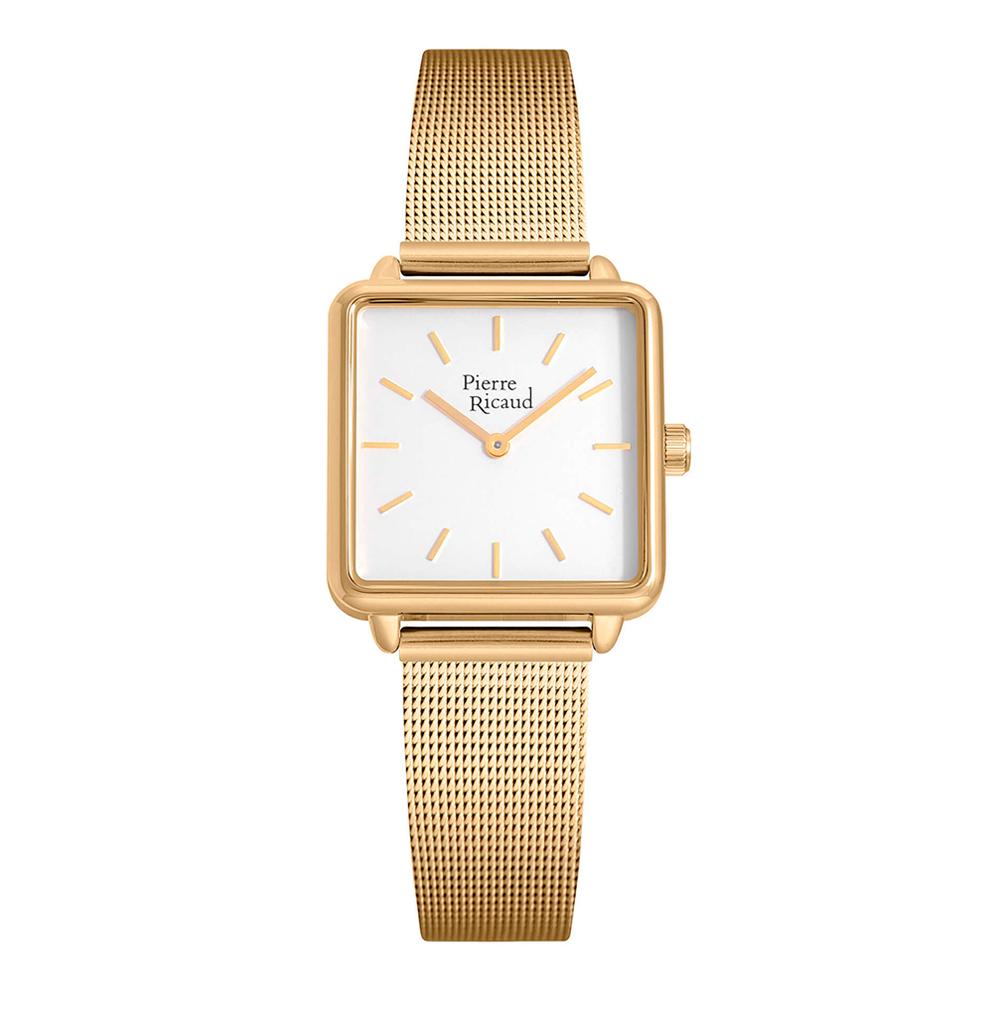 Фото «Женские кварцевые часы P21064.1113Q на стальном браслете с минеральным стеклом»