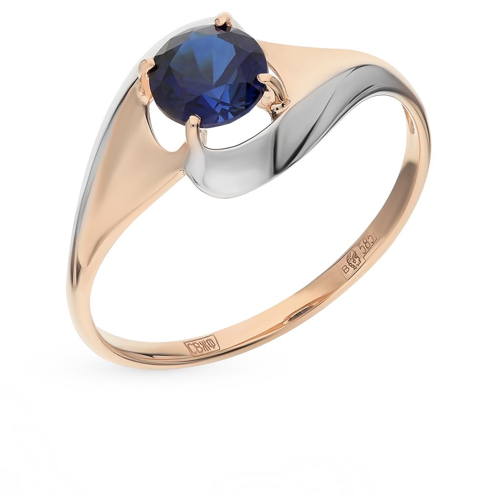 золотое кольцо с корундом SOKOLOV 714621*
