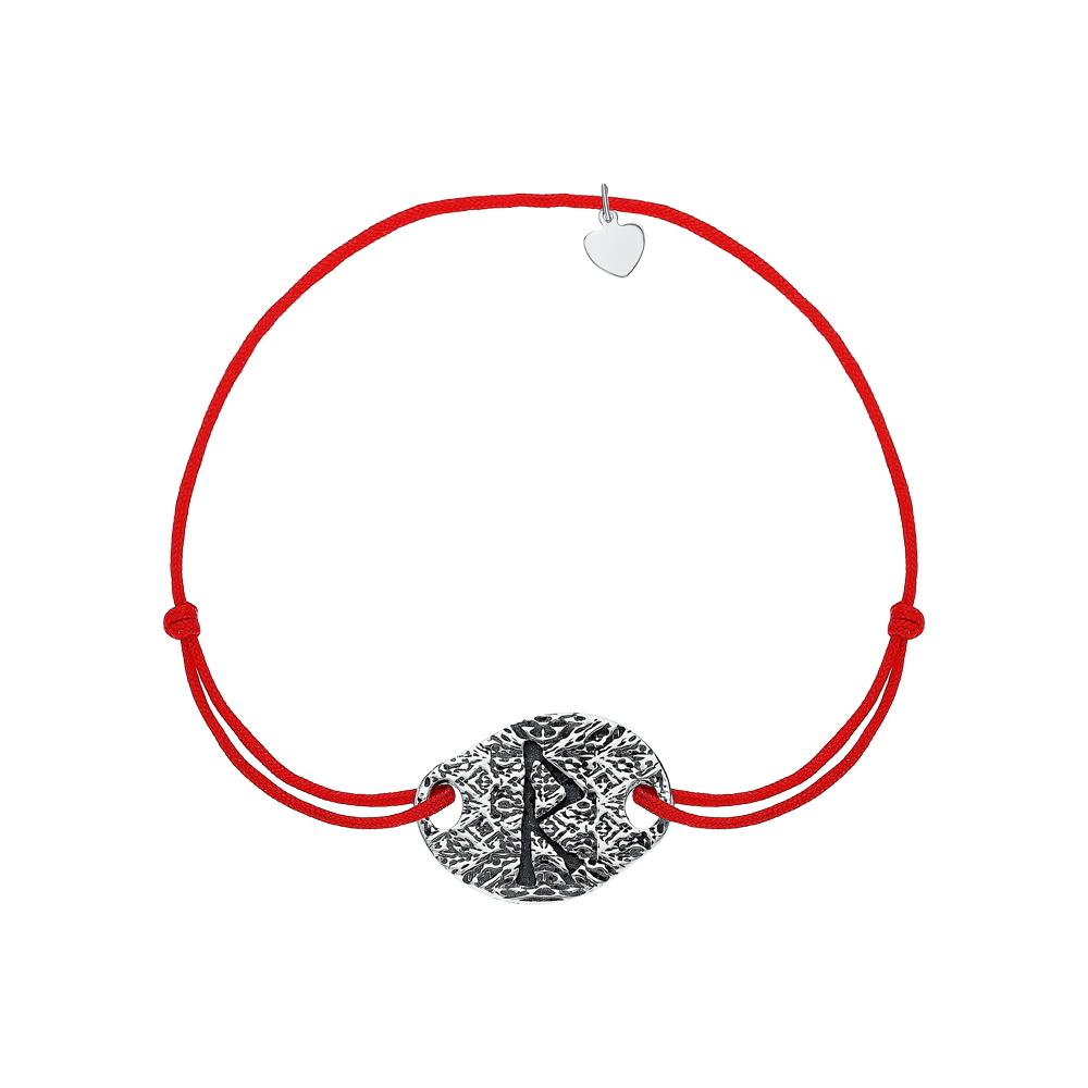 Кожаный браслет с серебром в Екатеринбурге